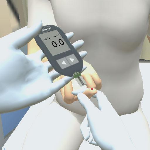 bloedglucosewaarde-meten-met-vingerprikker-en-bloedglucosemeter